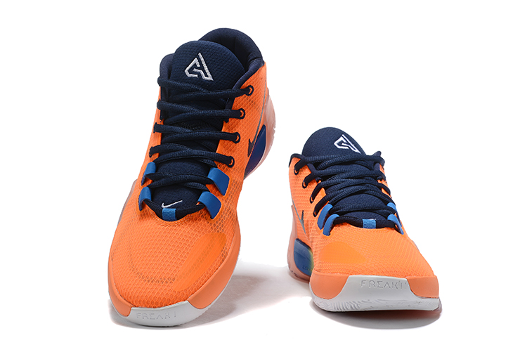 Nike Air Zoom Freak 1 Shoes Blue Orange